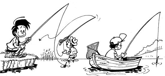 Les principales techniques de pêche