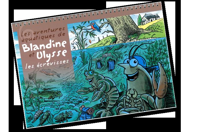 Les aventures aquatiques de Blandine et Ulysse les écrevisses
