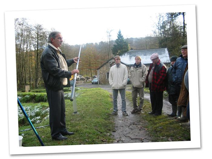 Formation de moniteur de pêche à Mirwart en 2004